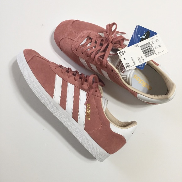 énorme réduction 10f73 e9fff NWT Adidas Gazelle Rose Pink Trefoil